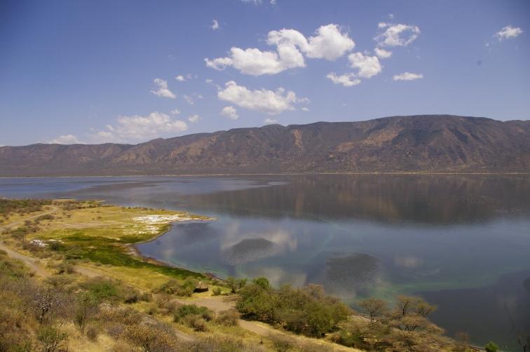 View over lake bogoria